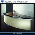 moderno alto lucido superficie solida acrilica vecchio stile scrivania