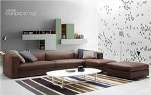 High quality top grain leather sofa