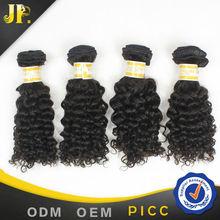 JP Hair top grade hot selling 100% human virgin peruvian jerry curl hair weave