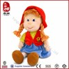 beautiful plush girl toys for kids manufacture