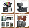 Brand new promotional leather notebook cover made in China