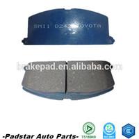 car parts in thailand maximum life and braking efficiency and smooth progressive braking car brake pad for kia/ford/lexus/isuzu