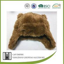 SEDEX & BSCI audit 100% polyester children winter fur hat