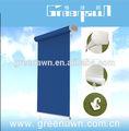Aluminium acrylique tissu, Vertical auvent / store