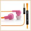 2014 factory supply custom fashion colorful cheap earphone