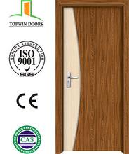 PVC coated door + MDF strips for interior bedroom