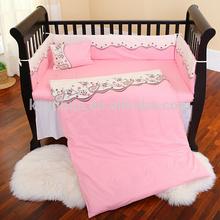 Pretty cartoon european baby bedding set