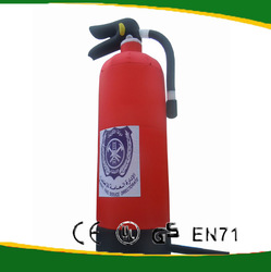 Giant inflatable fire extinguishers model for advertising