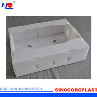 resistance grease and impact resistance plastic pp fade resistance crate