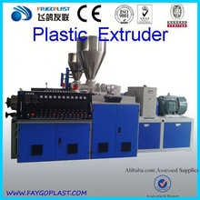 WPC plastic extrudercost of plastic recycling machine