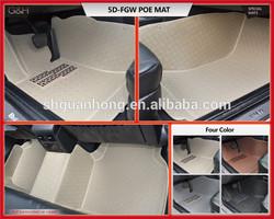waterproof protection car floor mat left hand drive market