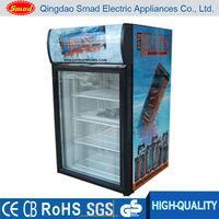 Low noise high quality mini display fridge for bottle beer