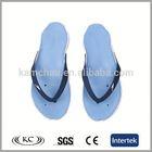 fashion bulk wholesale men sky-blue flip flops clear