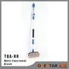 Water Flow Car Wash Brush, Pressure Rotating Wash Brush Long Handle