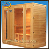 wholesale price 4 person steam sauna himalayan salt stone