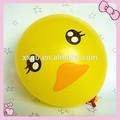 helio inflable del pato de goma decoración con globos