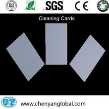 Plastic CY-CRCC-CR80 ATM cleaning cards / Post cleaning card