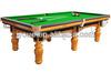 International Standard Snooker Table for american belt buckles