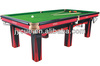 Hot Design Solid Wood Star Snooker Table for american belt