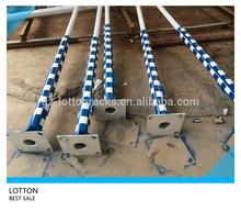 3.5m galvanized steel monitor pole price
