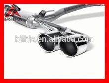 china titanium exhaust muffler for bmw x6 e71 lumma style factory