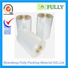 PVC,PE,POF heat shrink film,skin film Packing material