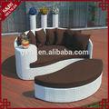 con estilo exótico de patio al aire libre muebles sofá de sol para la vida
