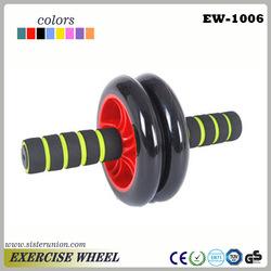AB ROLLER body strength abdominal exercise gym wheel