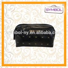 new design waterproof leather travel beautiful custom cosmetic bag