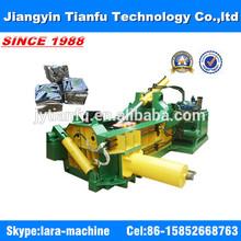 Small cheap hydraulic scrap metal steel copper aluminum baler machine CE