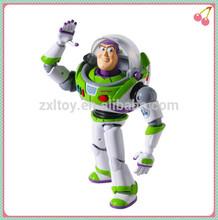 De juguete de plástico de dibujos animados Buzz Lightyear figura