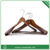 chromed hook luxury cloythes hanger wholesale , showroom usage clothes hanger