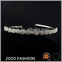 Silver Gorgeous Crystal Accents Bridal Prom Tiara India wedding tiara