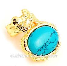2014 fashion design turquoise rings