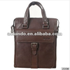 Latest design vintage leather business men high quality tote bag