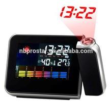 Projection clock/ colorful weather station projection clock/ led backlights desk clock