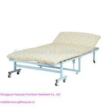Twin Fold Away Guest Foam Bed Adjustable