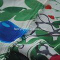 Fancyfly Top qualidade de tecido chiffon / blusas em tecido chiffon / vestidos com chiffon tecido