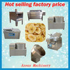 High Efficiency industrial plantain dices processing factory machine/fried pisang banana chip producing line price