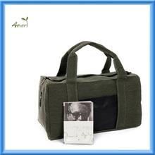 High-capacity linen cloth travel bag luggage bag duffel bag for men women