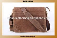 2014 Best Genuine Leather Shoulder Bag For Laptop