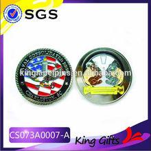 enamel figure commerative coin