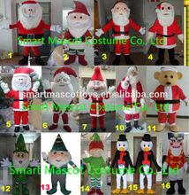 top venda pai natal trajes de natal santa claus mascote fantasia adulto traje de natal