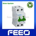 Tuv CCC miniatura PV sistema de 10KA 2 P 600VDC disyuntor