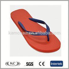 trendy austrilia plain soft flip flops red