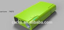 2014 new arrived Carku car battery jump starter kit can start 12v 4.0 Liter car