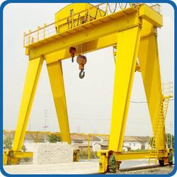 Heavy duty CE approved 20ton double girder gantry crane with winch trolley