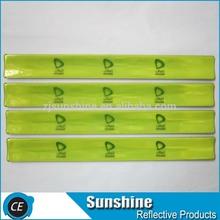 steel sheet reflective slap band for promotion