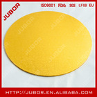 gold round masonite laminated mdf cake boards