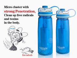 2014 new invention water bottles black plastic bottles
